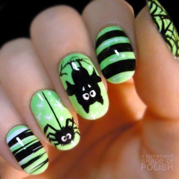 45 Elegant Fall Nail Art Designs 2016 | Diseños de uñas, Uñas ...