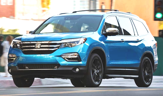 2019 Honda Pilot Refresh Spy Photos Elite Sport Hybrid Update