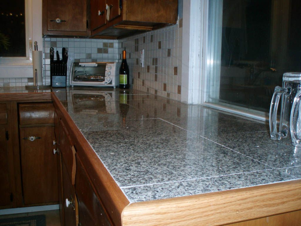 Removing Tile Countertop Countertop Edge By Engaging Granite Tile Countertop Edge