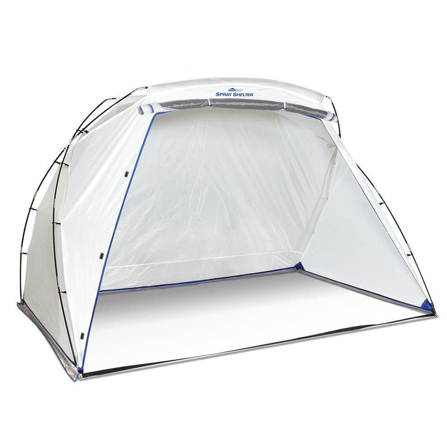 Homeright Spray Shelter 7 27 Lb 8 Ft X 6 Ft Drop Cloth At Lowes