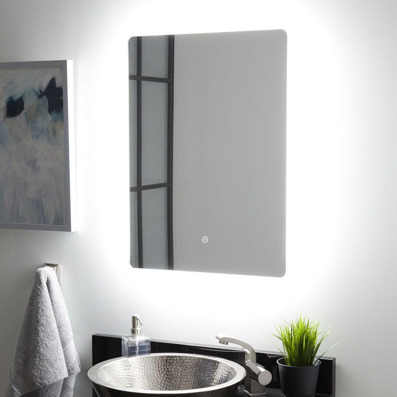Winnberg Lighted Mirror with Tunable LED - LED-Lighted ...