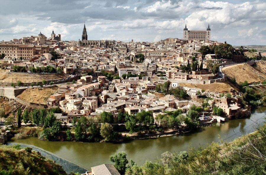 Resultado de imagen de Vistas Toledo desde mirador río Tajo