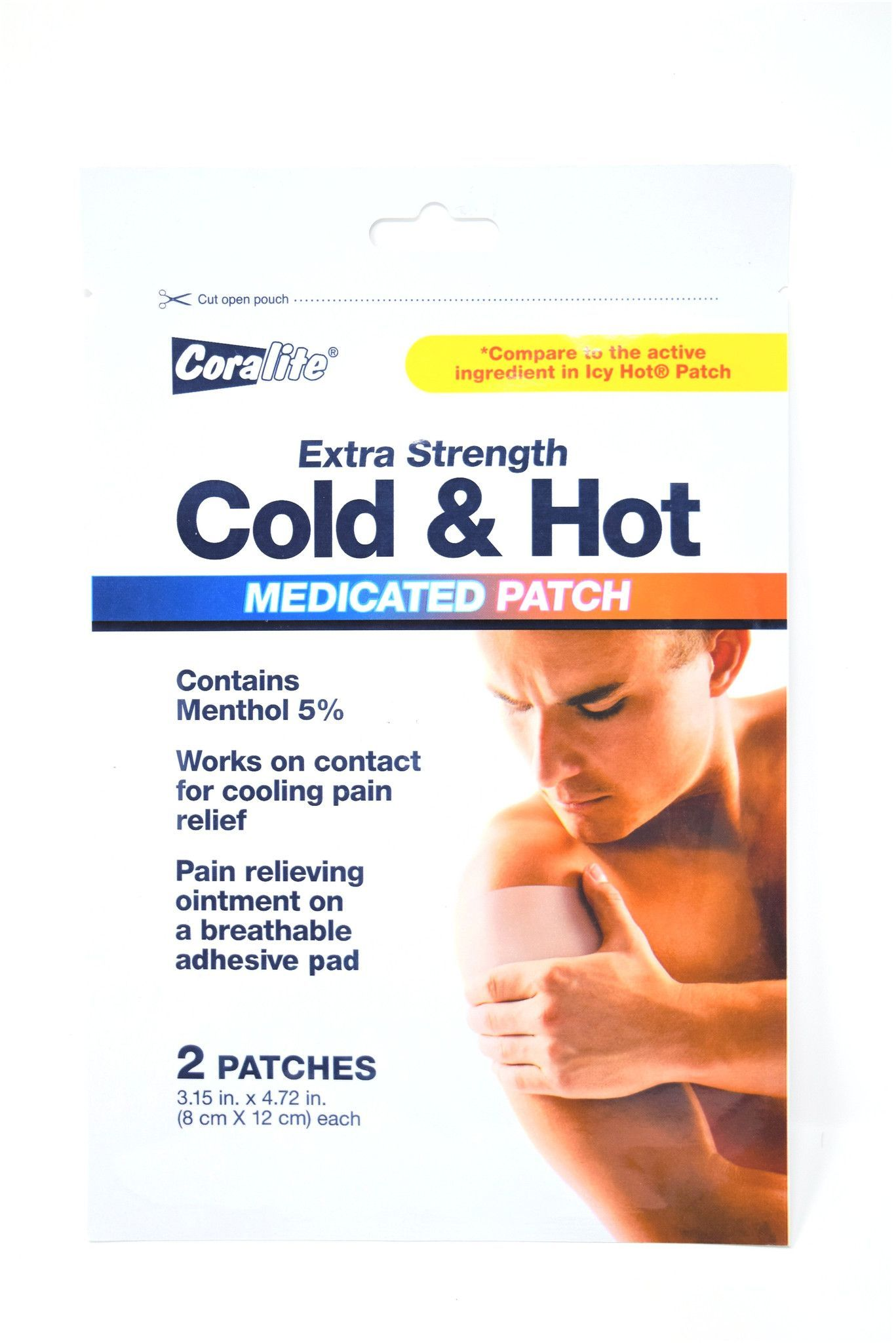 Extra Strength Menthol Pain Relief Knee Sleeve Bulk Case Of 24