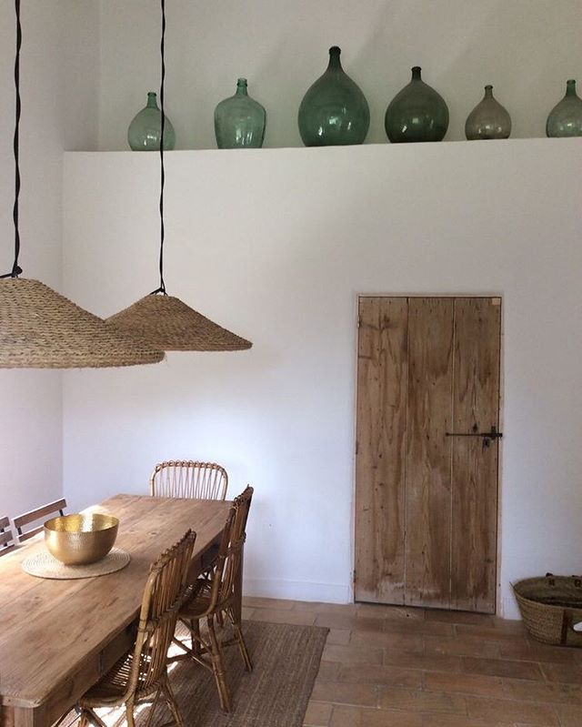 "Photo of Kate Zimmerman Turpin on Instagram: ""Mediterranean farmhouse feels 😍 #huntsundayhouseinspo #pinterest"""
