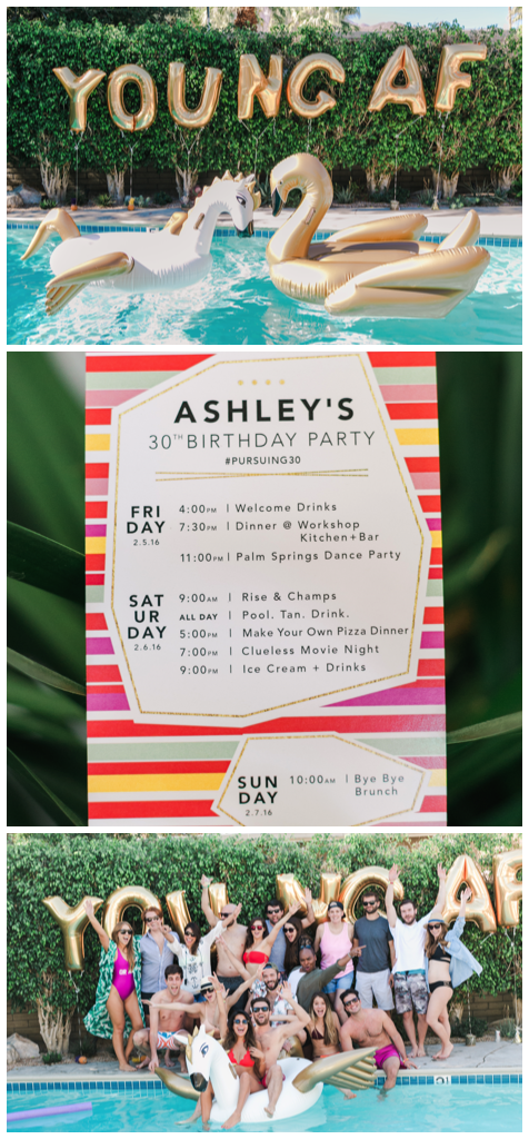 How To Throw An Epic Pool Party Summer BirthdayBirthday Parties30th Birthday PartiesIdeas