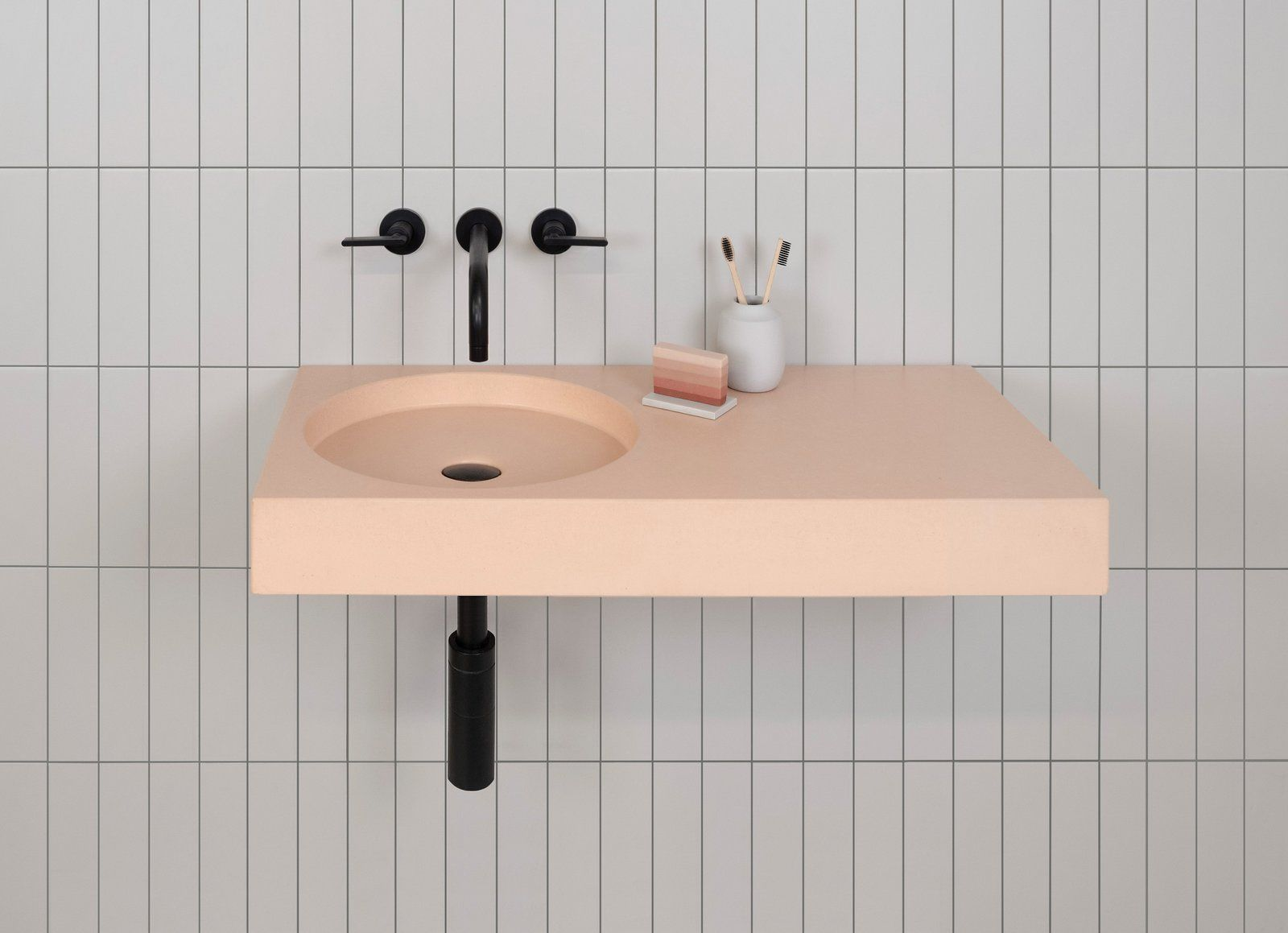 2019 Modern Bathroom Fixture Trend: Bold, Retro Colors
