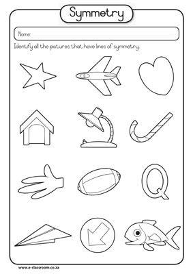 math worksheet : 1000 images about kindergarten  math  symmetry on pinterest  : Kindergarten Symmetry Worksheets