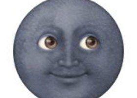 Are You Actually Girlfriend Material Black Moon Emoji Moon Emoji Emoji Stickers