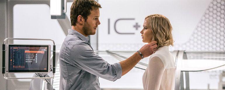 'Passengers': Mira un time-lapse de la transformación de Chris Pratt en la película  Noticias de interés sobre cine y series. Estrenos trailers curiosidades adelantos Toda la información en la página web.
