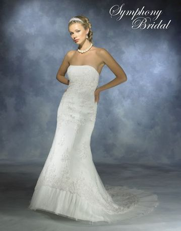 Symphony S2309 wedding dress bridal, prom, pageant, simones ...