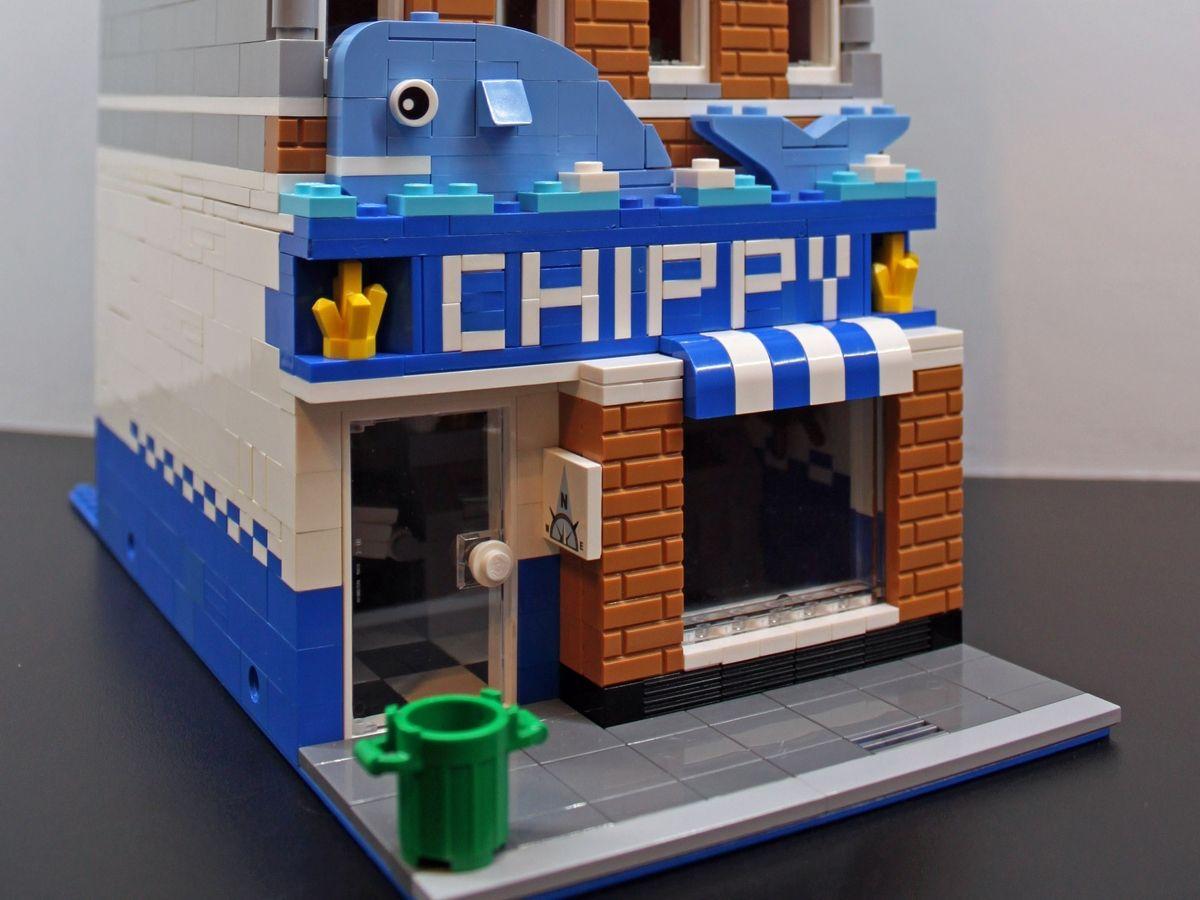 Fish Chip Shop Lego Lego Building Custom Lego Fish Chips