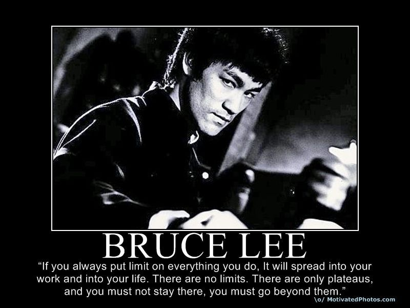 There Are No Limits There Are Only Plateaus Bruce Lee Quotes Bruce Lee Inspirational Military Quotes