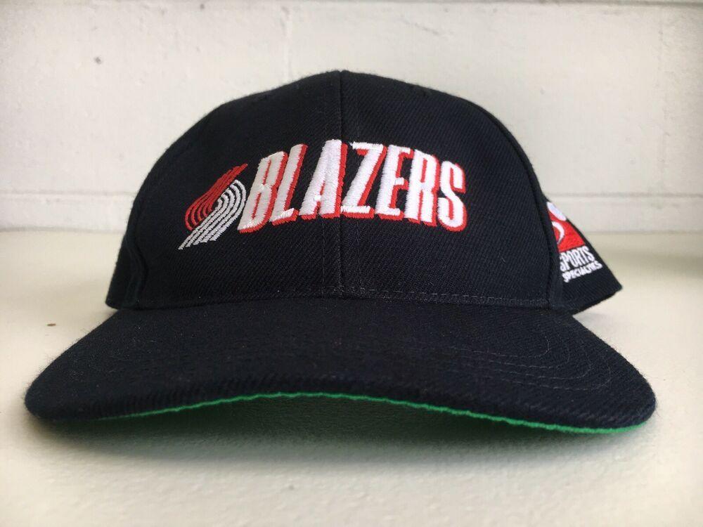 475c7520f9e Trail Blazers Hat Sports Specialities Vtg 90s Rip City Portland Snapback NBA   SportsSpecialties  Nba