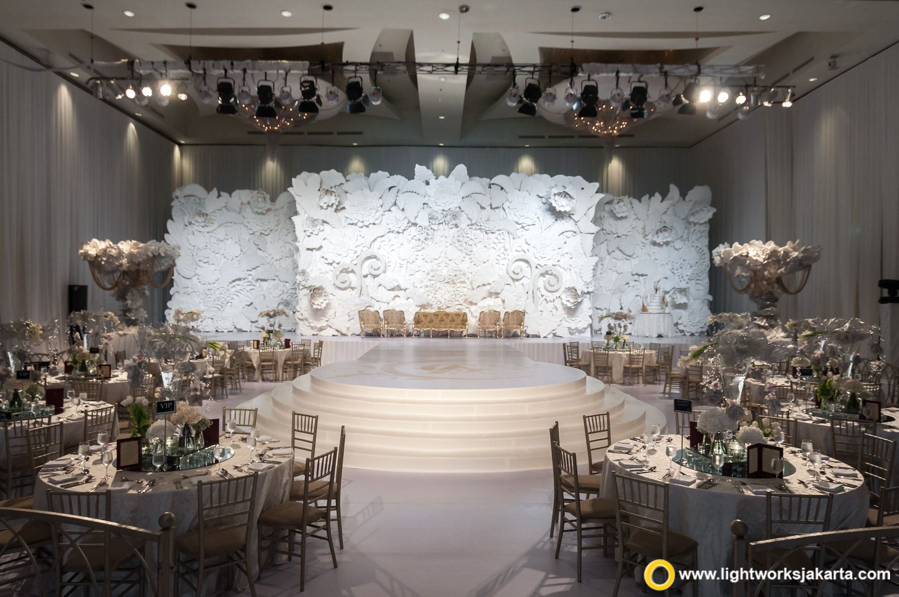 Anaz and Goldwin's wedding reception Venue at The Ritz
