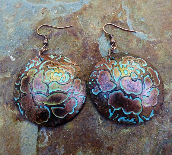 39adea5a9 Rosebud polymer clay earrings | Jewelry ideas | Pinterest | Polymer ...