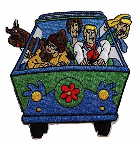 SCOOBY DOO Cloth Patch Football
