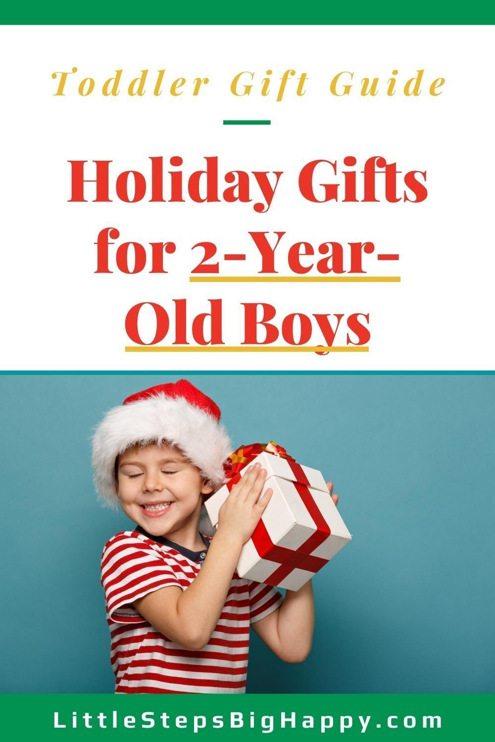 Christmas Wish List for a 2 Year Old Boy | Amazon Gift Guide in