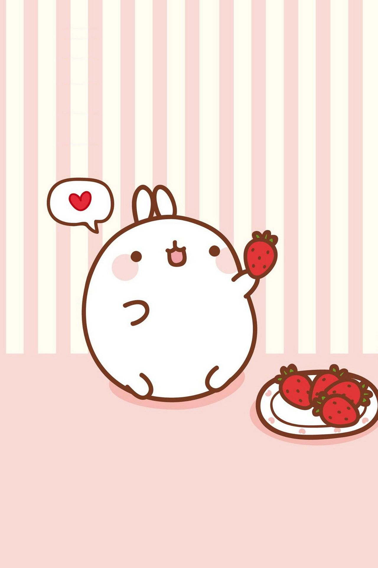 Molang ★ Find more super cute Kawaii wallpapers for your