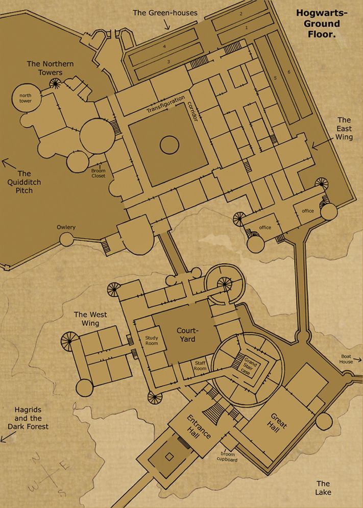 Figure out how to break into Harry and Ron s room with this handy map
