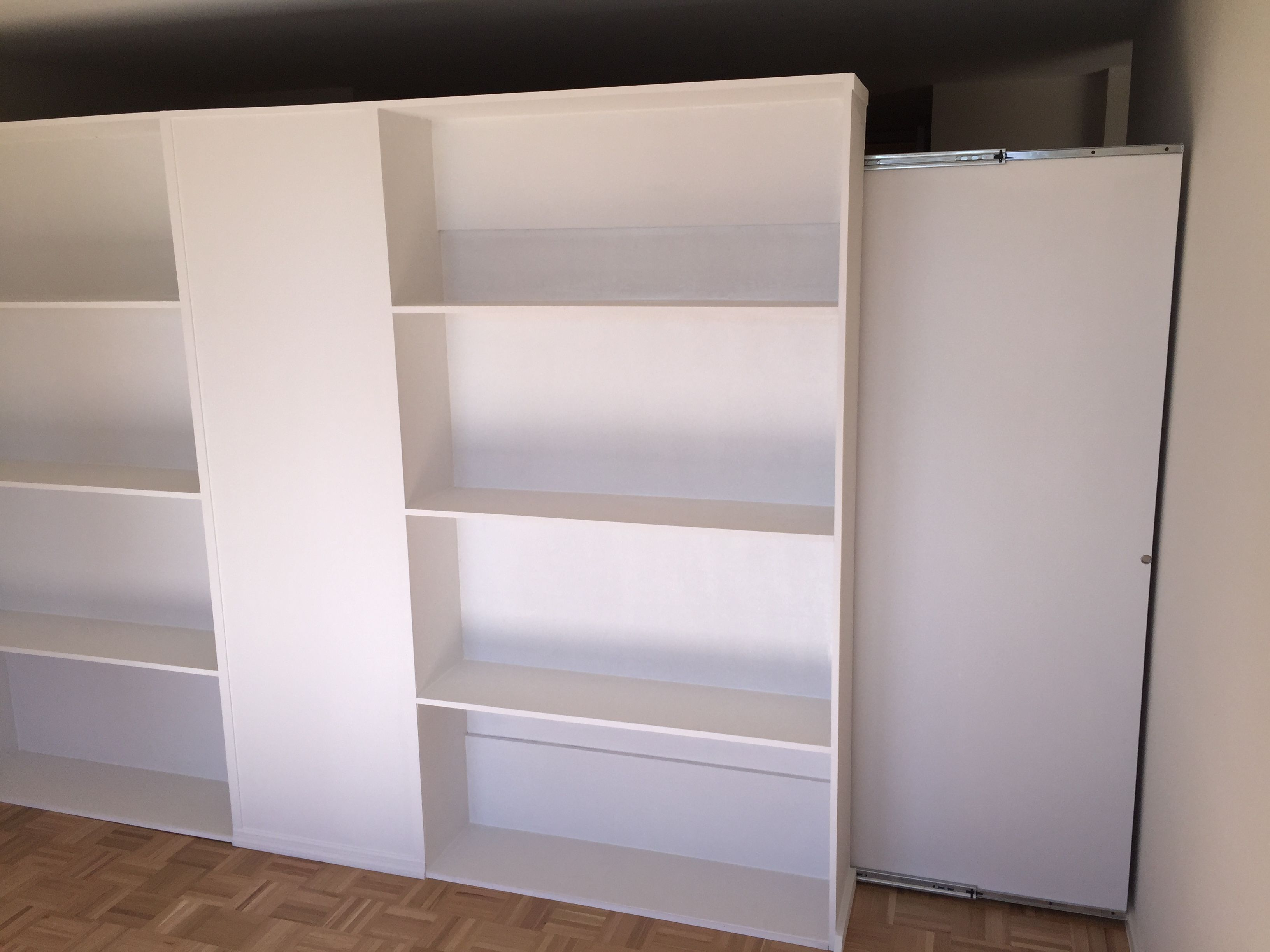 wall bookcases office modern l closed systems shelving bookcase