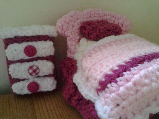 Crochet DollHouse Furniture
