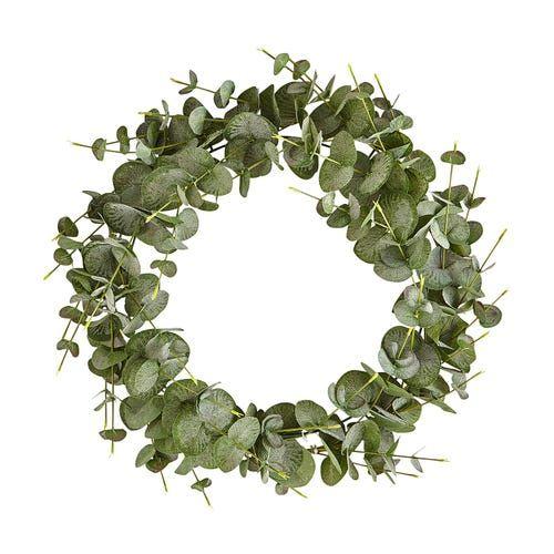Photo of 18″ Faux Eucalyptus Wreath