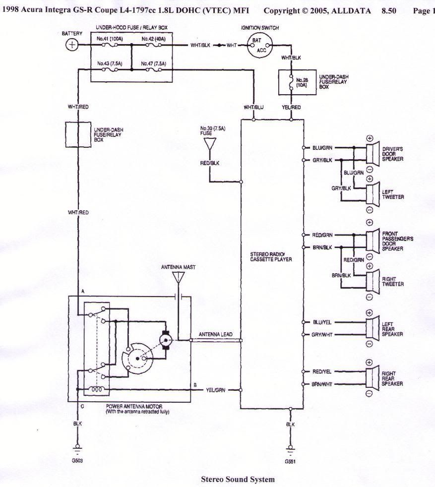 Acura Integra Stereo Wiring Diagram There You Go Alldata I Never Argue With It Acura Integra Stereo Wiring Diag Electronic Schematics Diagram Acura Integra