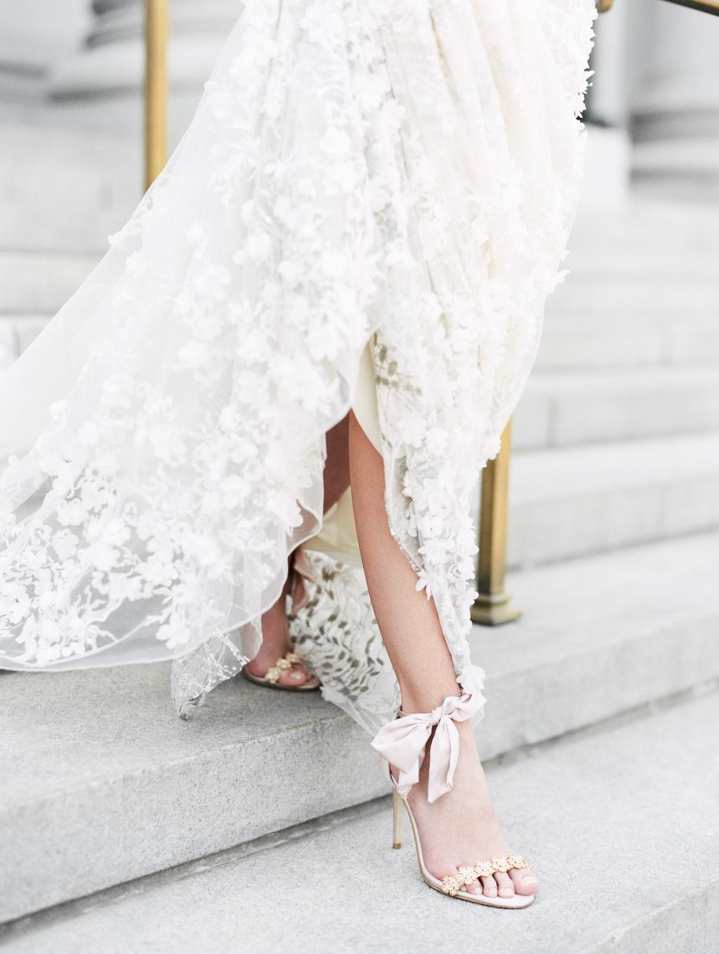 The Only Romantic And Chic Blush Wedding Shoes That Youll