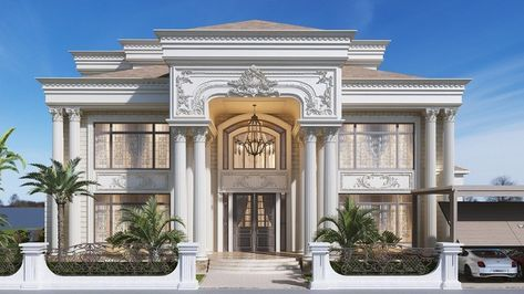 Creative Exterior Design in Dubai by Luxury Antonovich Design is part of House design - Bespoke Exterior Design in Dubai  Our expertise will give your Exterior Design a creative look with the bespoke design  Complete Exterior Design Services