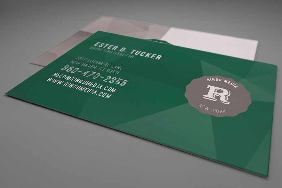 Clean Business Card Template 04 Cleaning Business Cards Business Card Template Business Card Template Design