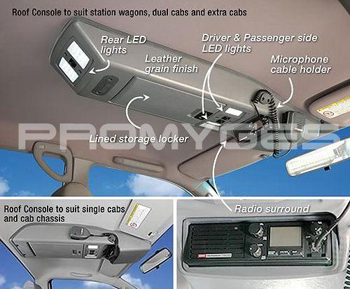 Promyges Nissan Patrol Ford Ranger Custom Car Interior