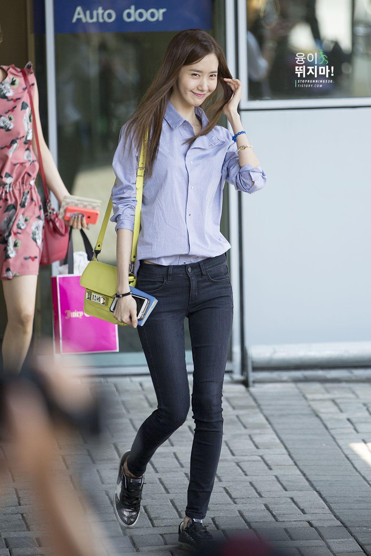 140802 Yoona 39 S Airport Fashion Yoona 2014 Airport Fashion Pinterest Airport Fashion