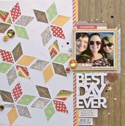 Jillibean Soup Bean Talk: Holiday Gift Hunt Giveaway - Day #4 and Layouts -- Nicole Nowosad -- Holly Berry Borscht