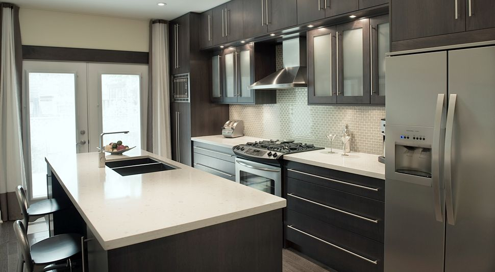 Expresso Kitchen Cabinets Toronto Custom Kitchen