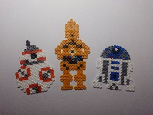 Perler Beads R2d2 Star Wars Hama Beads Bugelperlen Youtube