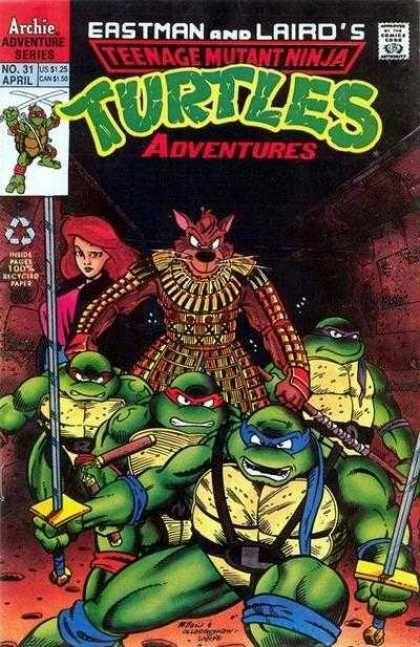 NOT BLOG X: TMNT Adventures #31 – April 1992