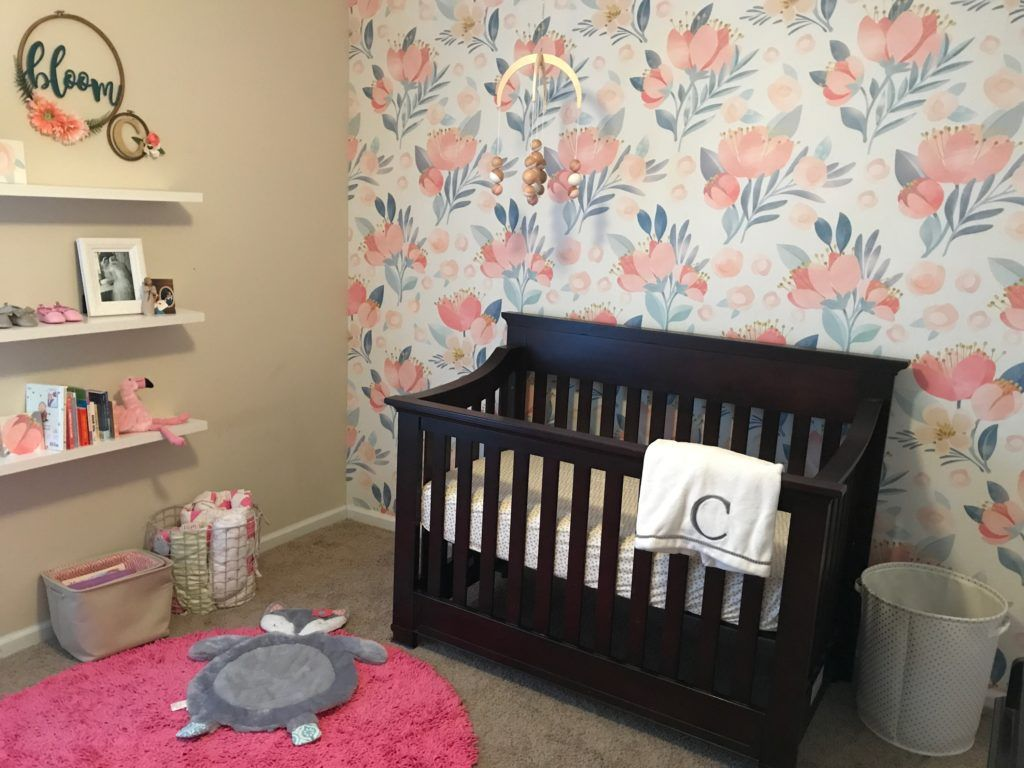 Pink mint and gray baby girl nursery project nursery - 123 Best Images About Coral Nursery On Pinterest Coral Gold Nursery Toddler Rooms And Gold Nursery