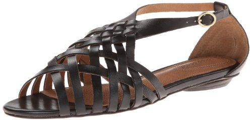 Corso Como Womens Everly Dress SandalBlack Vintage Calf65 M US >>> Click on the image for additional details.