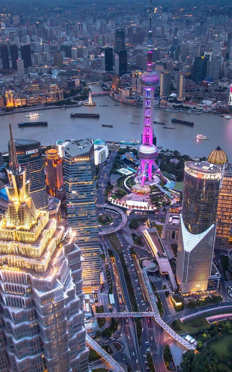 Shanghai China Skyline Picture City Aesthetic Seattle Photos