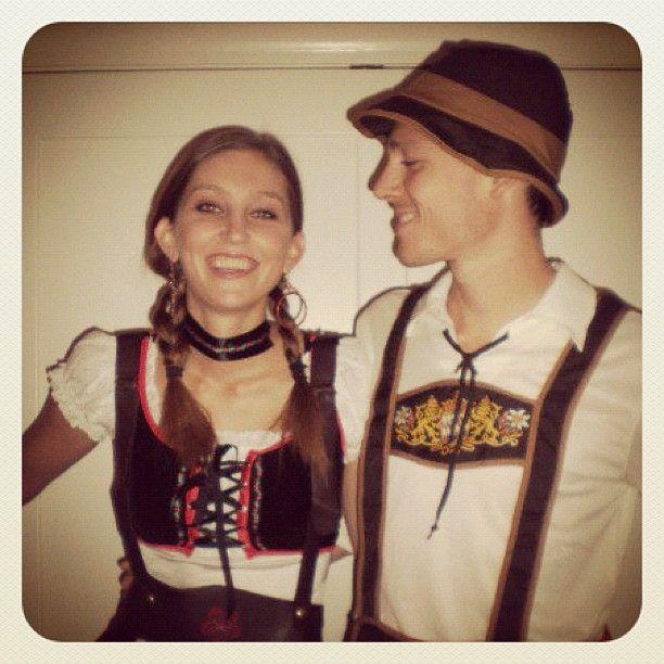 Oktoberfest Couple - halloween couples costumes ideas