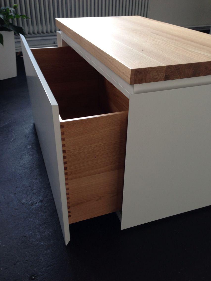 holz sitzbank mit schublade | betont | unsere designobjekte in 2018