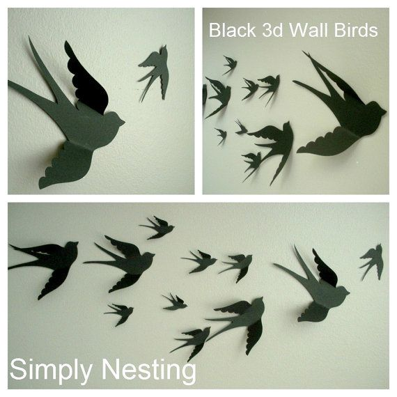 kids wall decor - Bird Wall Decor
