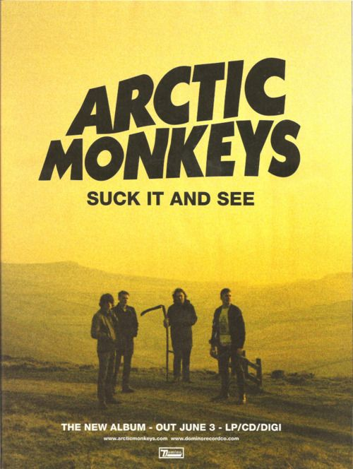 Suck It And See Experimental Rock, Alex Turner, Will Turner, The Last Shadow