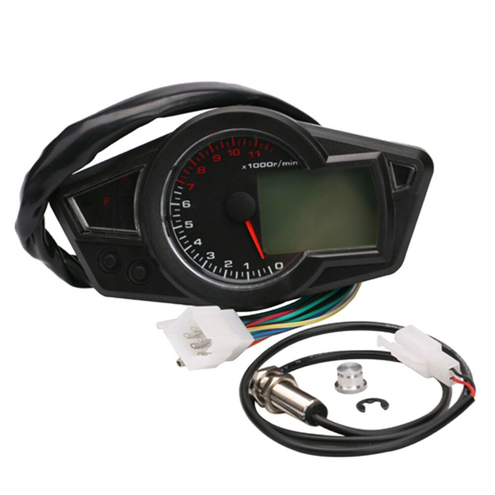eBay #Sponsored LCD Digital GPS Speedometer Odometer Adjustable for
