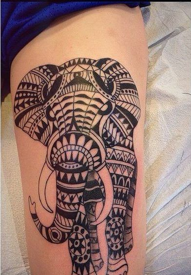 Tribal Elephant Tattoo 30 Aztec Elephant Designs August 2020 Elephant Tattoo On Hand Elephant Tattoos Tattoos For Guys