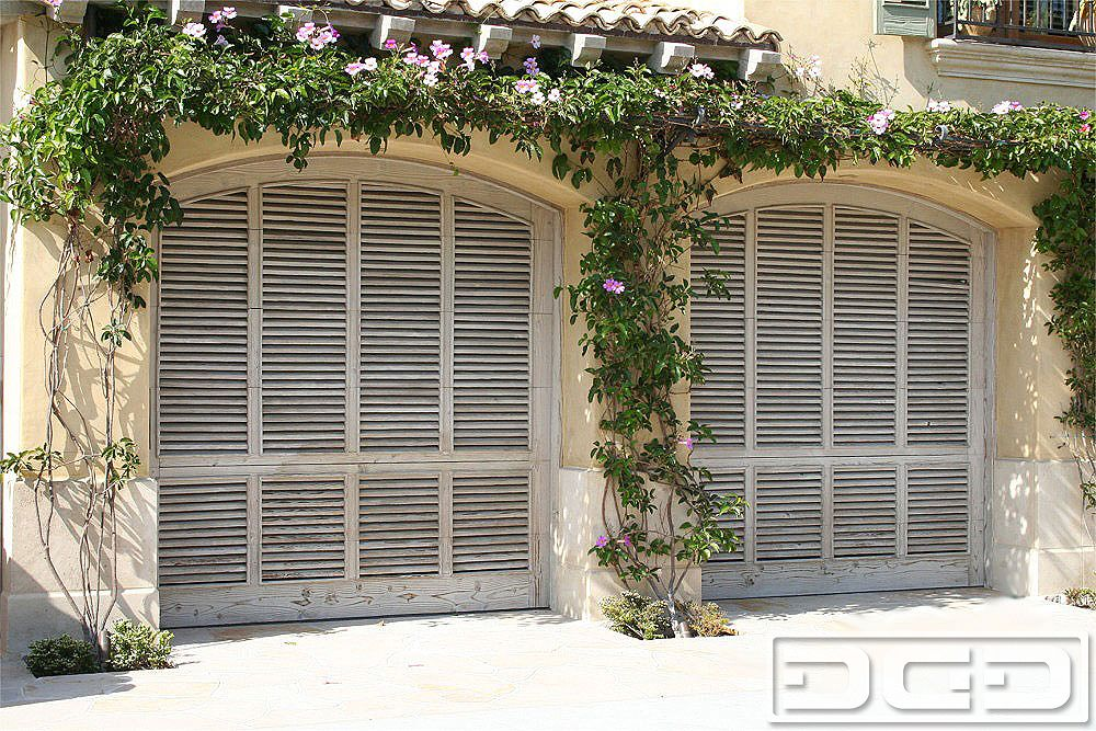 View Large Photo Of Coastal Cottage 03 | Custom Architectural Garage Door