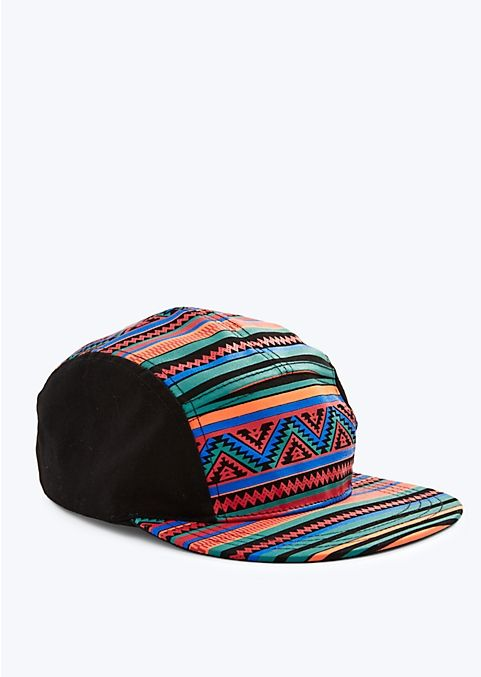 abe1cfaa16520 Aztec 5 Panel Hat