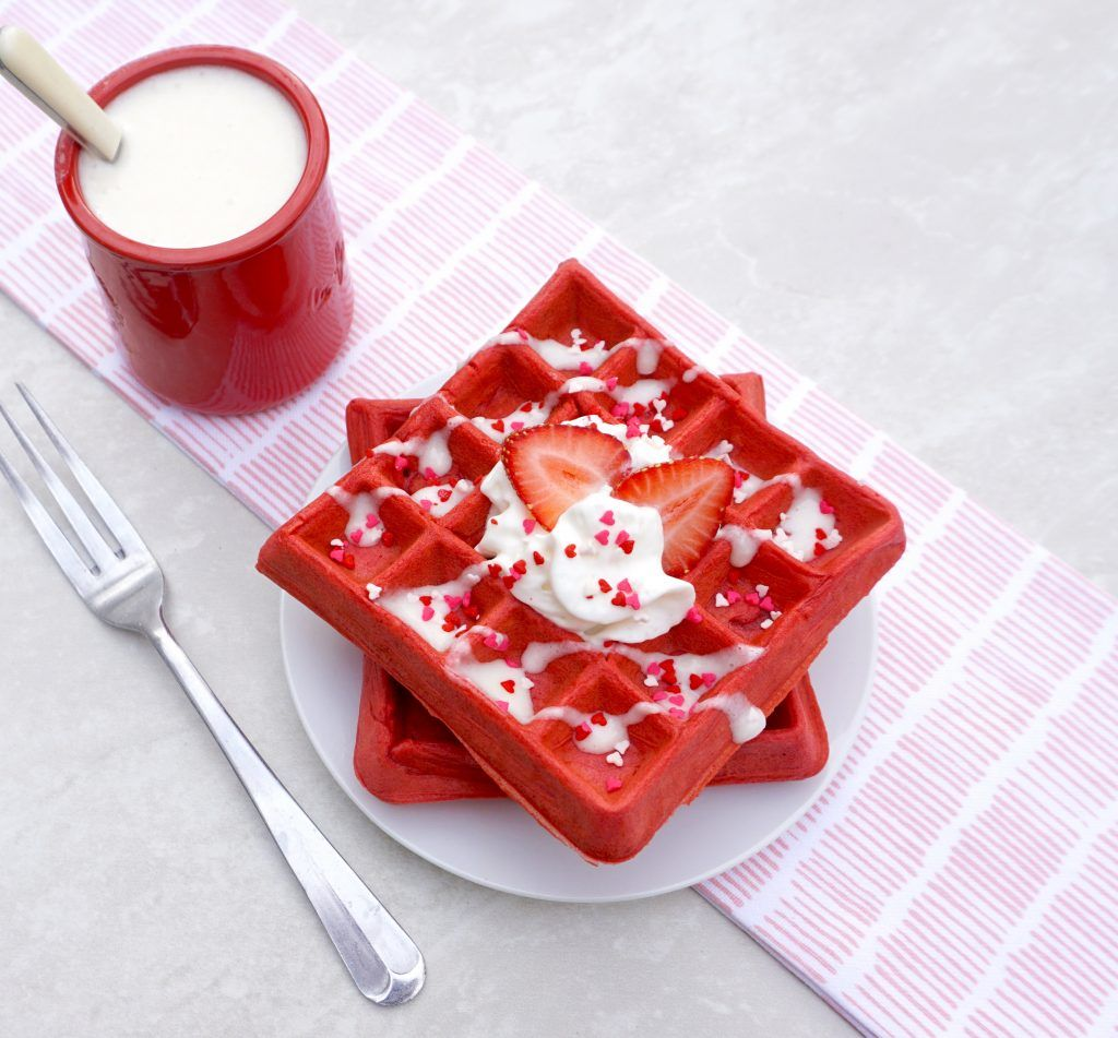 Anothertablespoon Recipe In 2020 Red Velvet Waffles Waffles Cake Decorating Amazing