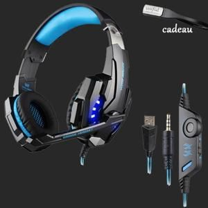 usiful bleu casque gamer ps4 casque gamer 7 1 pour jeux. Black Bedroom Furniture Sets. Home Design Ideas