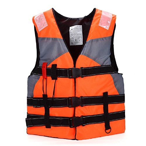 UK Adult Kids Life Jacket Kayak Ski Buoyancy Aid Vest Sailing Fishing Watersport